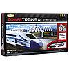 Премиум набор с мостом и локомотивом + Игрушка ж/д Powertrains набор с краном