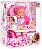 """Tiny Baby - Игровой набор """"Путешествие"""" - Мягкий пупс, 30 см, с переносным автокреслом"""