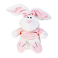 Кролик Белый сидячий, 40 см