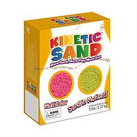 Кинетический песок Waba Fun набор из двух цветов - розовый и желтый (2,27 кг)