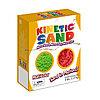 Кинетический песок Waba Fun набор из двух цветов - зеленый и красный (2,27 кг)