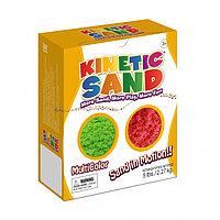 Кинетический песок Waba Fun набор из двух цветов - зеленый и красный (2,27 кг), фото 1