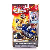 Игрушка Могучие рейнджеры Мотоцикл с Самураем 10 см, фото 1