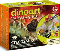 Набор для сборки и раскрашивания - Стегозавр, фото 1