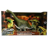 Игрушка игровой набор динозавров 6 шт.  в ассортименте