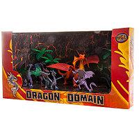 Игровой набор Драконы 6 шт. и 2 дерева, в ассортименте