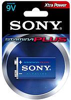 Батарейка крона 9V  Sony Stamina Plus алкалиновая