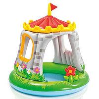 Бассейн детский с навесом  «Королевский Замок» INTEX 57122