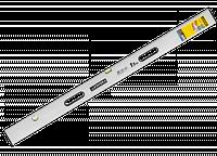 """Правило-уровень STAYER """"PROFI"""" алюминиевый, 2 глазка, 2 ручки, усилен прямоуг профиль, с ребром жесткости, 3 м"""