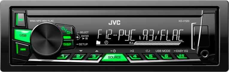 Автомагнитола JVC KD-X120