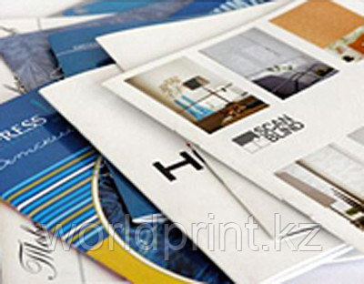 Печать брошюр в Астане