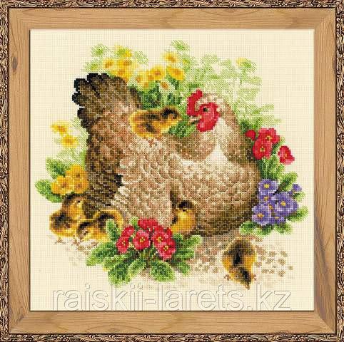 """Набор для вышивания крестом """"Курица""""  1480"""