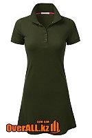 Платье поло зеленое, фото 1