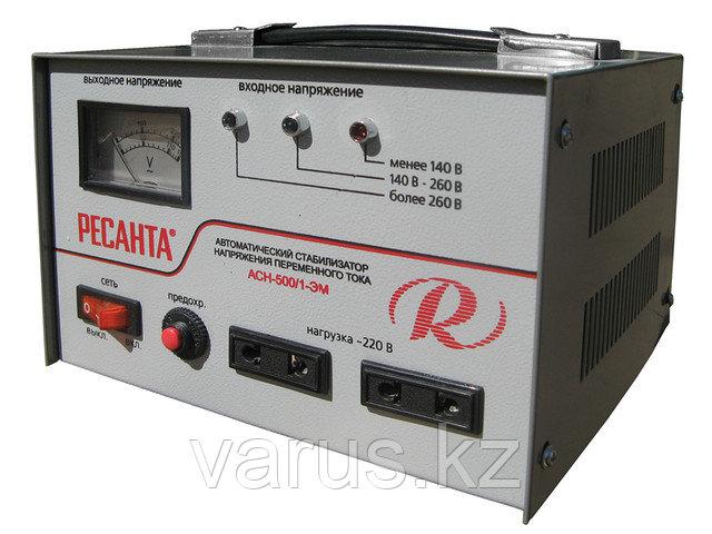 Стабилизатор напряжения ACH-500/1-ЭМ  (SVC-500 /1-ЭМ)