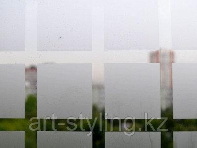 """Декоративная пленка """"квадрат полупрозрачный 45х45мм"""""""