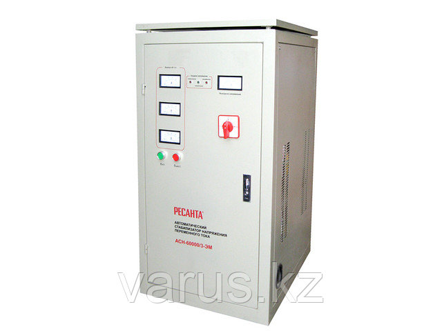 Стабилизатор напряжения ACH-60000/3-ЭМ  (SVC- 60 000/3)