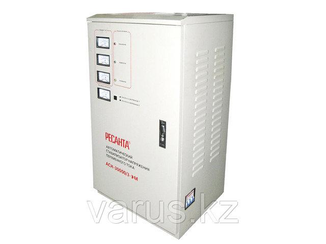 Стабилизатор напряжения ACH-30000/3-ЭМ  (SVC- 30 000/3)