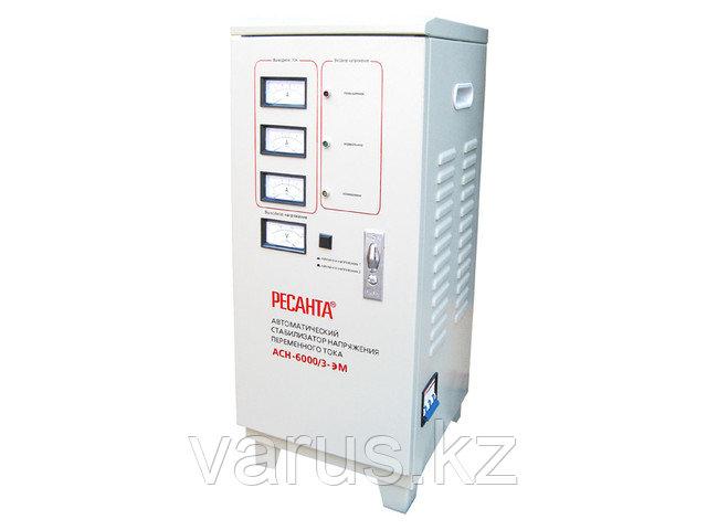 Стабилизатор напряжения ACH-6000/3-ЭМ  (SVC-  6 000/3)