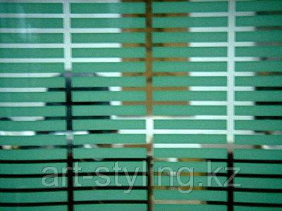 """Декоративная пленка """"прямоугольник зеленый 46х6мм"""""""