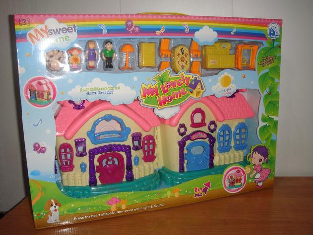Дом с куколками
