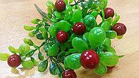 Куст брусники с мелкими ягодками (искусственный), фото 1