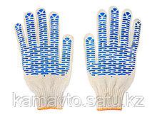 Перчатки рабочие(белые и серые)