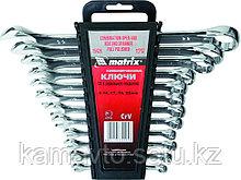Набор ключей накидн. 6-22мм.8шт.полиров.хром MATRIX