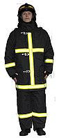 Боевая одежда пожарного БОП-1 «Ткань арт. 77», черный (штаны, куртка)