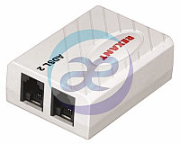 ADSL 2 сплиттер (с проводом)  REXANT