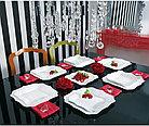 Столовый сервиз Luminarc Authentic White 19 предметов (E6197), фото 2