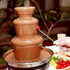 Шоколад темный для фонтанов