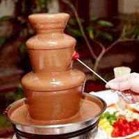 Молочный шоколад для фонтанов