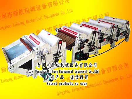 Оборудование по переработке отходов текстиля в вату