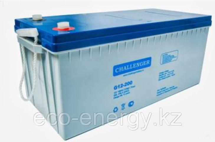 CHALLENGER G12-100H гелевый аккумулятор. 100А/ч 12 Вольт
