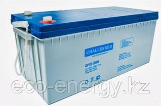 CHALLENGER G12-200H гелевый аккумулятор. 200А/ч 12 Вольт