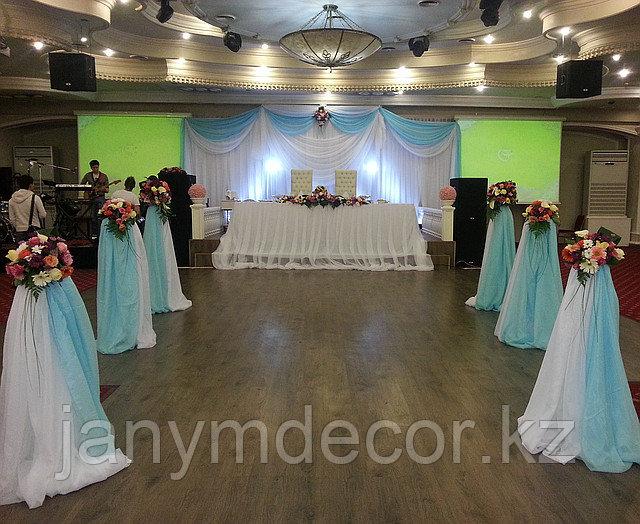 Оформление свадеб Алматы - фото 3