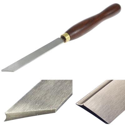Резец токарный Crown HSS, Parting Fluted Tool, 5мм, рукоять 216мм