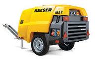 Передвижной строительный винтовой компрессор Kaeser M-27РЕ, фото 1