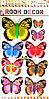 "Набор наклеек ""Бабочки"" 5D"