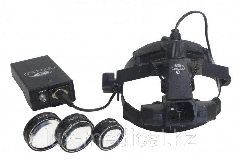 Офтальмоскоп налобный бинокулярный НБО-3-01