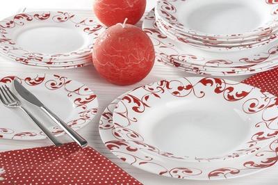 Столовый сервиз Luminarc Jazzy Pure Red 18 предметов