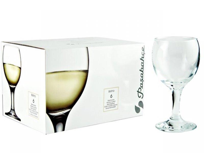 Бокал для белого вина Bistro 175 мл Pasabahce 6 шт (44415/6)