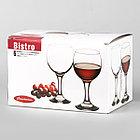 Бокал для красного вина Bistro 227 мл Pasabahce  6 шт (44412/6), фото 2