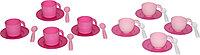Набор детской посуды на 4 персоны в сеточке (микс №2) 56047