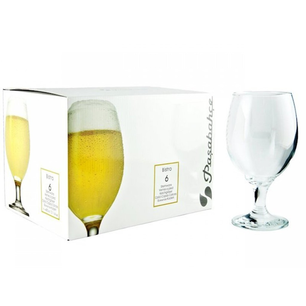 Бокал для пива Pasabahce Bistro 290 мл 6 шт (44417/6)
