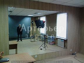 Установка зеркала в помещении (фотостудия) 1