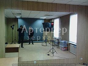 Установка зеркала в помещении (фотостудия) 2