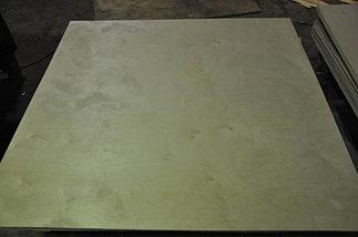 Фанера березовая. размер: 2.44*1.22 м, толщина 4мм, нешлифованая, сорт II/IV, фото 2