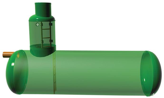 Емкость из стеклопластика под заказ