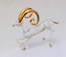 Сувенир Знак Зодиака Овен. Венецианское стекло, Италия, ручная работа